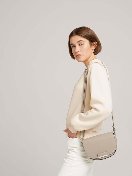 Madrid Gerundete Überschlagtasche - Frauen - mid grey - 5 - TOM TAILOR Denim