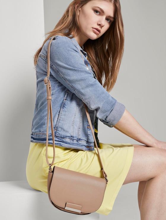 Madrid Gerundete Überschlagtasche - Frauen - nude - 5 - TOM TAILOR Denim