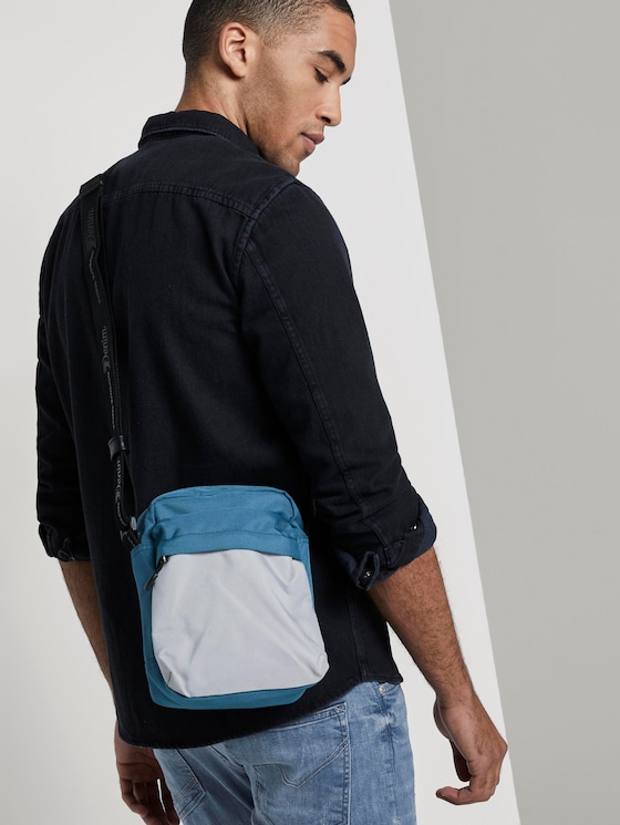 Shoulder bag Leon - Men - mixed blue - 5 - TOM TAILOR Denim