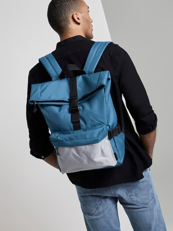 Backpack Leon - Men - mixed blue - 5 - TOM TAILOR Denim