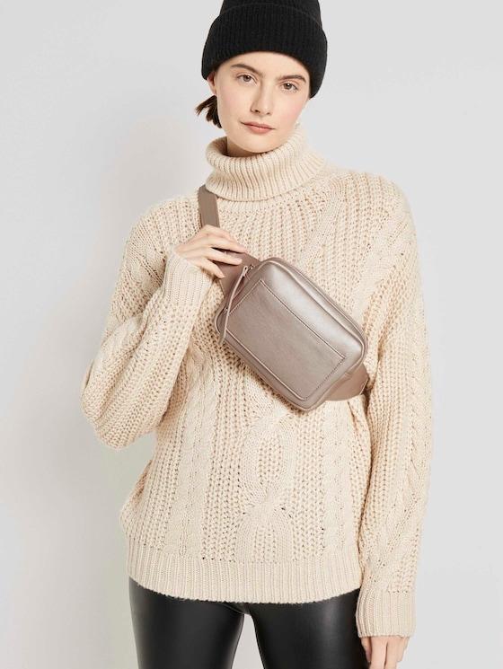 Suvi metallic belt bag - Women - pearl - 5 - TOM TAILOR Denim