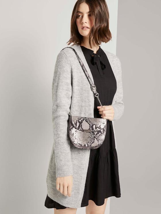 Sanna snake shoulder bag - Women - snake grey - 5 - TOM TAILOR Denim