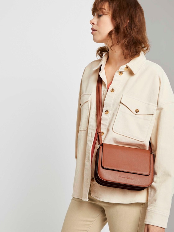 Trea shoulder bag - Women - cognac / brandy - 5 - TOM TAILOR Denim