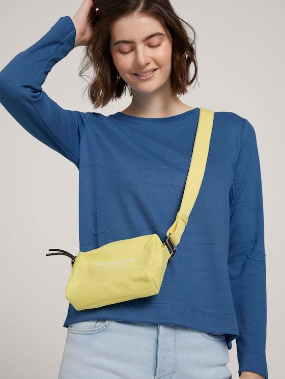 Lia Umhängetasche mit gewebtem Gurt - Frauen - gelb / yellow - 5 - TOM TAILOR Denim