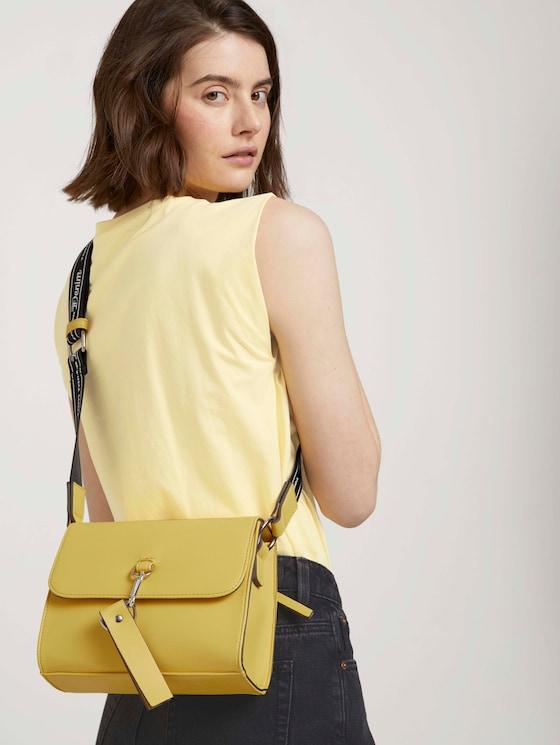 Ceria Umhängetasche mit Logo Print - Frauen - gelb / yellow - 5 - TOM TAILOR Denim