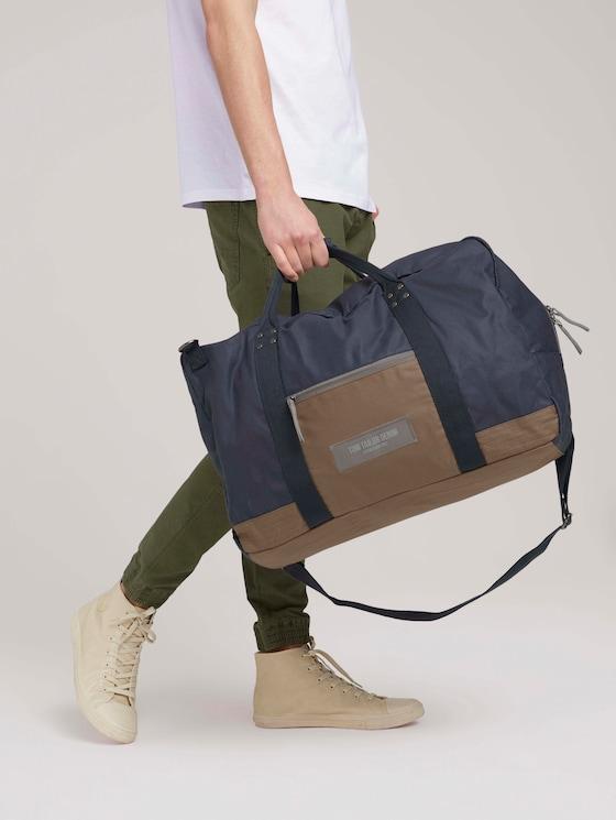 Ben Utility Reisetasche aus Nylon - Männer - dark blue - 5 - TOM TAILOR Denim