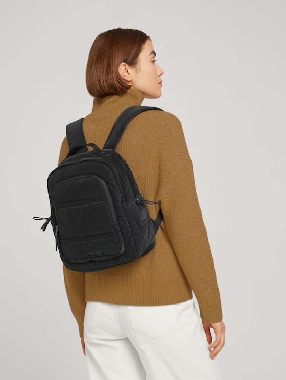 Josy nylon backpack - Women - schwarz / black - 5 - TOM TAILOR Denim