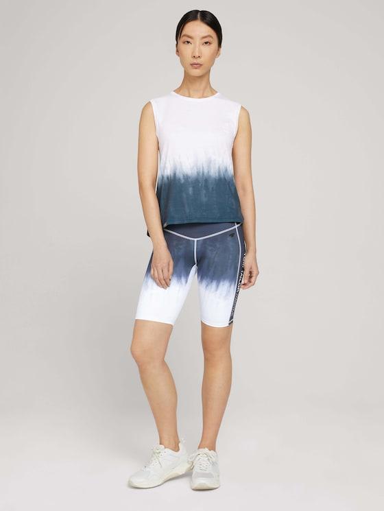 Skinny fit shorts - Women - batika-dk grey - 3 - Tom Tailor E-Shop Kollektion