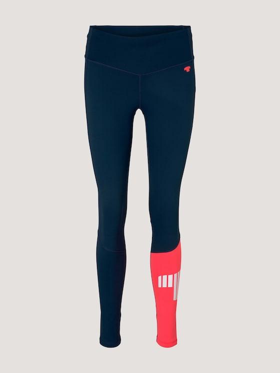 Leggings with a pocket - Women - dk blue - 7 - Tom Tailor E-Shop Kollektion