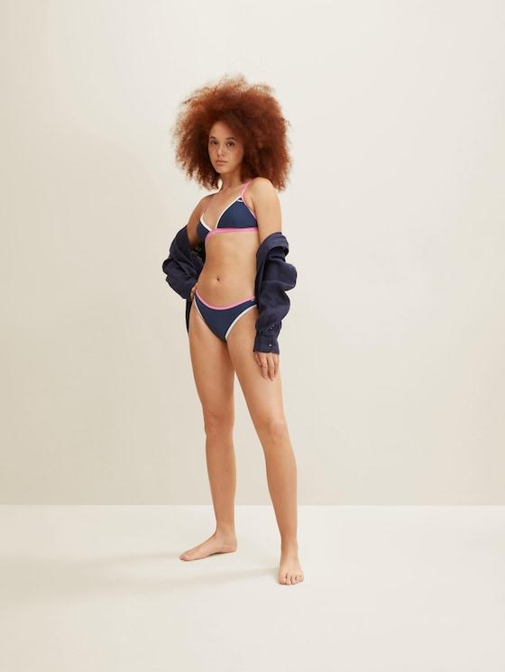 Triangle Bikinitop - Frauen - dress blue - 5 - TOM TAILOR