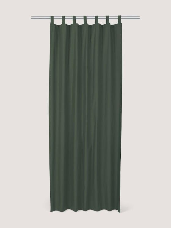 Schlaufenschal Vorhang Unifarben - unisex - bottel-green - 7 - TOM TAILOR