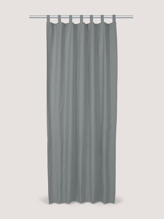 Schlaufenschal Vorhang Unifarben - unisex - grey - 7 - TOM TAILOR