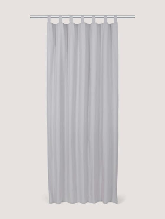 Schlaufenschal Vorhang Unifarben - unisex - silver grey - 7 - TOM TAILOR