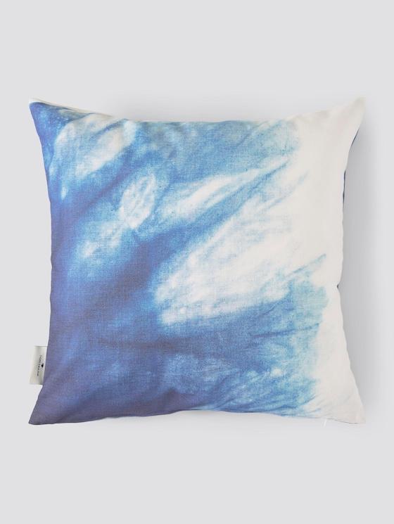Kissenhülle mit Print - unisex - blue - 7 - TOM TAILOR