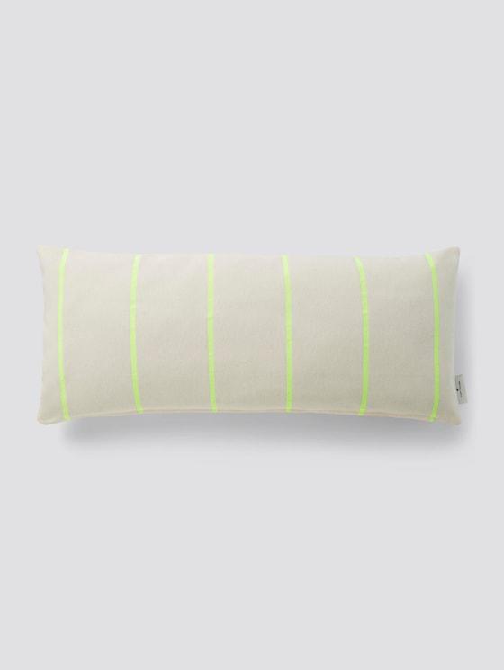 Kissenhülle mit Neon-Streifen - unisex - nature-neon - 7 - TOM TAILOR