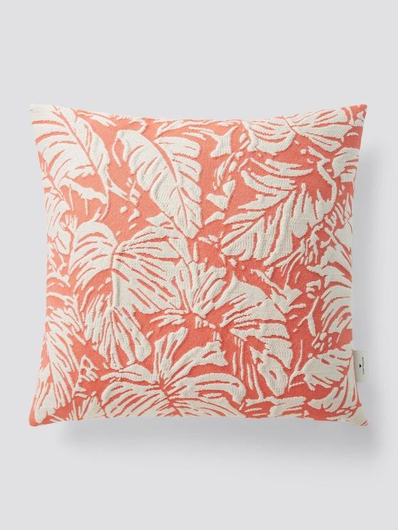 Kissenhülle mit Palmenprint - unisex - coral - 7 - TOM TAILOR