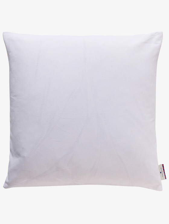 pillow case dove - unisex - white - 1 - TOM TAILOR