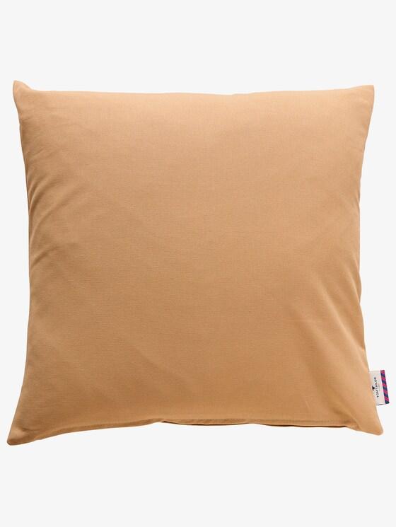 Basic Kissenhülle - unisex - beige - 1 - TOM TAILOR