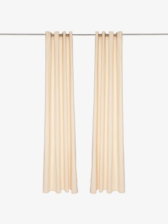 curtains with eyelet dove - unisex - creme - 1 - TOM TAILOR