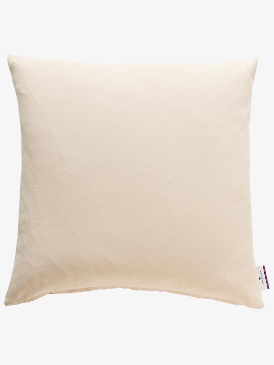 pillow case dove - unisex - creme - 1 - TOM TAILOR