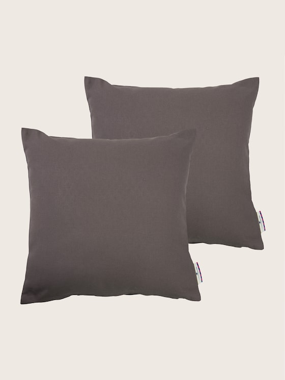 pillow case dove - unisex - dk.grey - 7 - TOM TAILOR