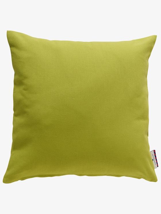 Basic Kissenhülle - unisex - green - 1 - TOM TAILOR