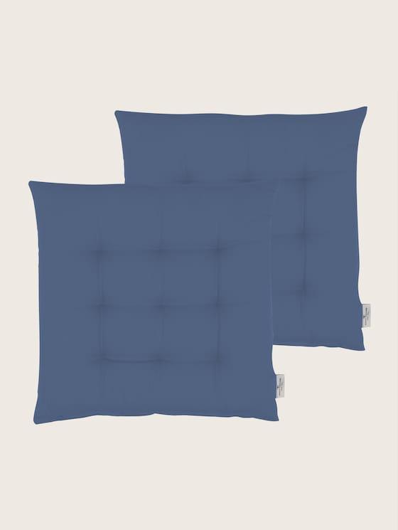 Plain coloured cushion - unisex - denim - 7 - TOM TAILOR