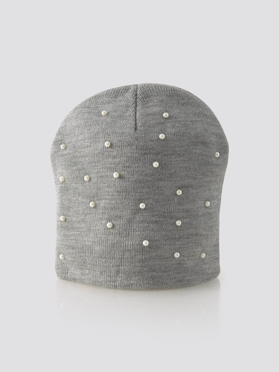 Cap with pearls - Girls - original|multicolored - 7 - TOM TAILOR