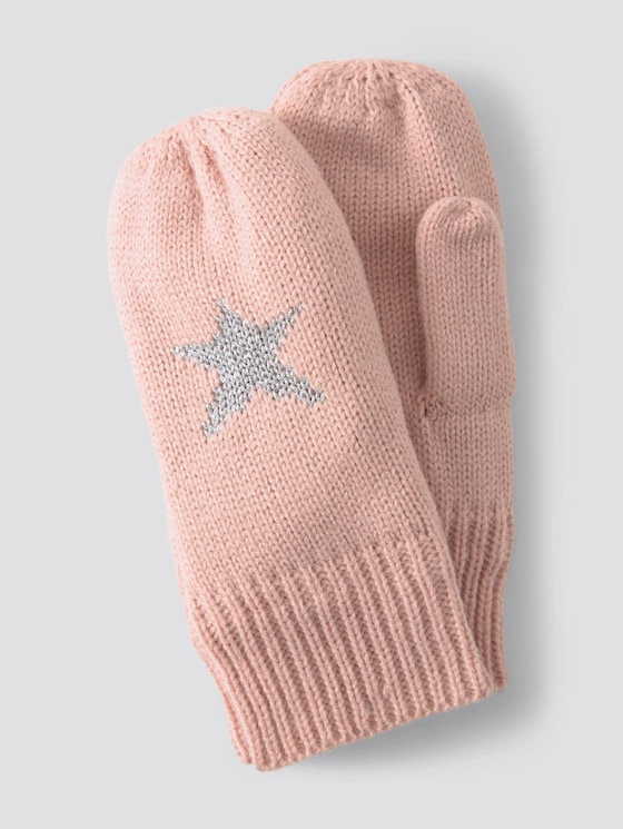 Gloves with star motif - Girls - original|multicolored - 7 - TOM TAILOR