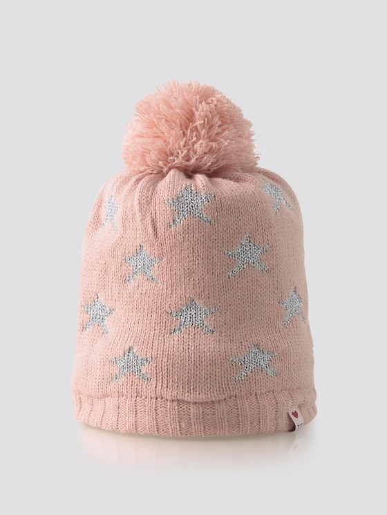 Cap with star pattern - Girls - original|multicolored - 7 - TOM TAILOR