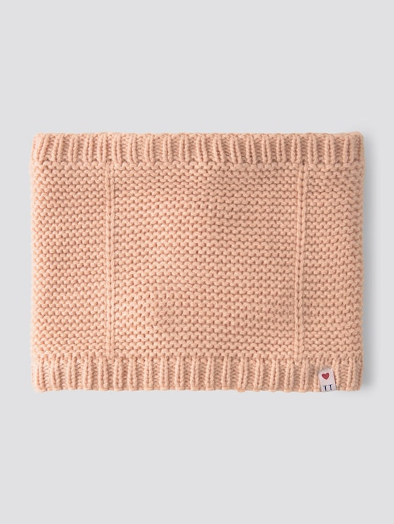 Loop shawl with chunky knit - Girls - original|multicolored - 7 - TOM TAILOR