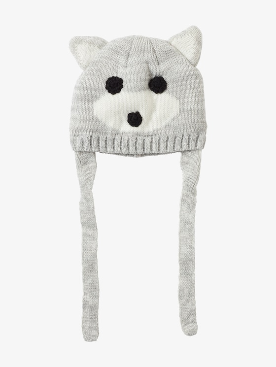 Cap with animal motif - Babies - drizzle melange|gray - 7 - TOM TAILOR