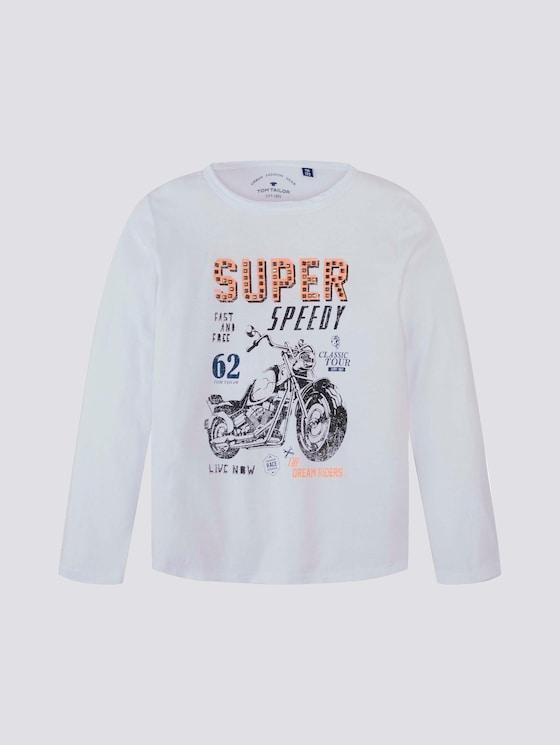 Langarmshirt mit Print - Jungen - original|original - 7 - Tom Tailor E-Shop Kollektion