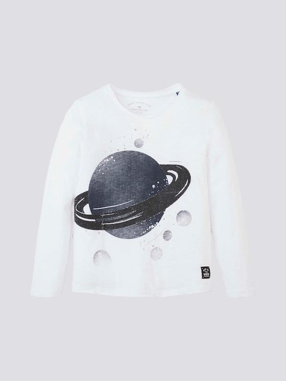 Langarmshirt mit Planeten-Print - Jungen - original|original - 7 - TOM TAILOR