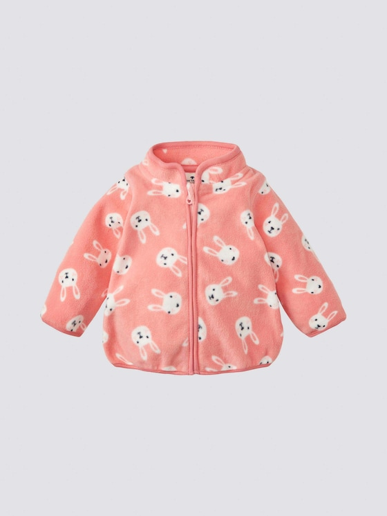 Fleecejacke mit Print - Babies - allover|multicolored - 7 - Tom Tailor E-Shop Kollektion