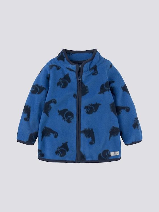 Fleecejacke mit Print - Babies - new blue|blue - 7 - Tom Tailor E-Shop Kollektion