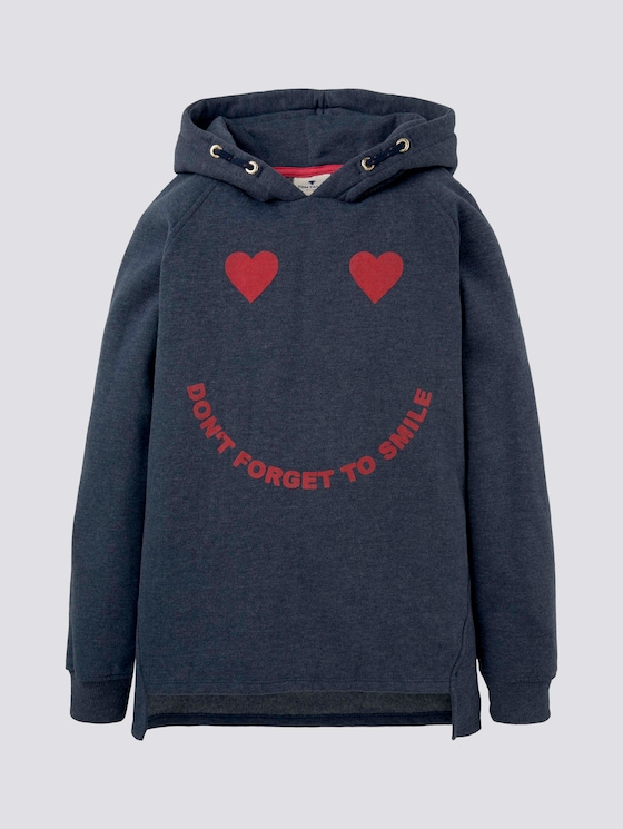 Hoodie mit Love-Print - Mädchen - original|multicolored - 7 - Tom Tailor E-Shop Kollektion
