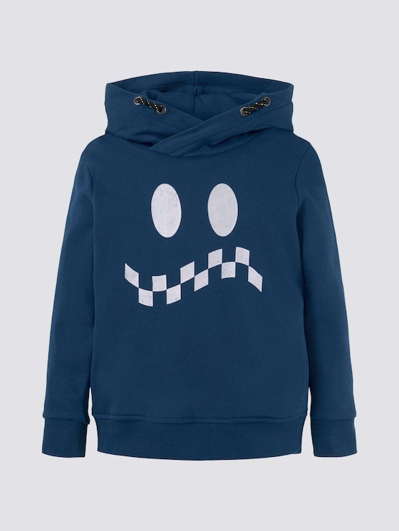 Hoodie mit Print - Jungen - new blue|blue - 7 - Tom Tailor E-Shop Kollektion