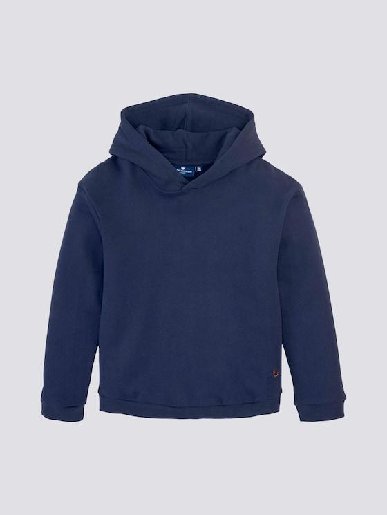 Hoodie met pailletten - Meisjes - dress blue|blue - 7 - TOM TAILOR