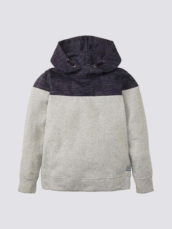Meliertes Sweatshirt - Jungen - drizzle melange|gray - 7 - Tom Tailor E-Shop Kollektion