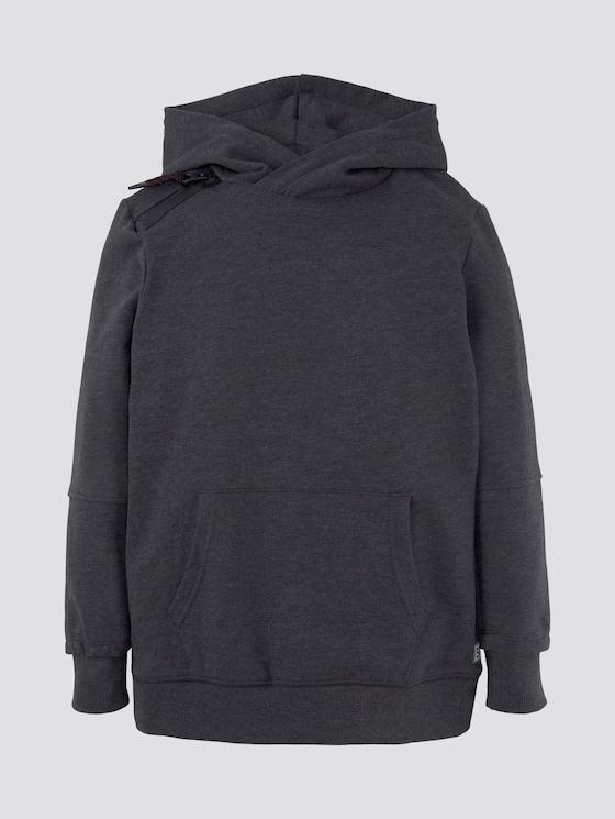Hoodie mit Reißverschlussdetail - Jungen - dark navy|blue - 7 - Tom Tailor E-Shop Kollektion