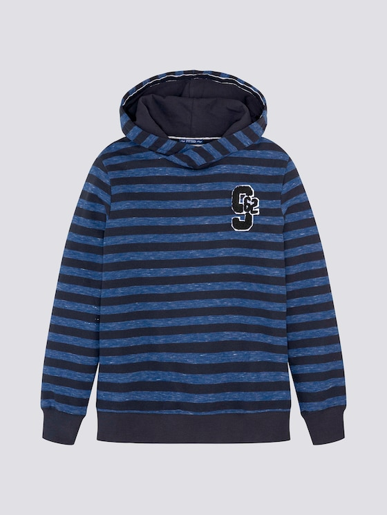 gestreepte hoodie - Jongens - dark navy|blue - 7 - Tom Tailor E-Shop Kollektion