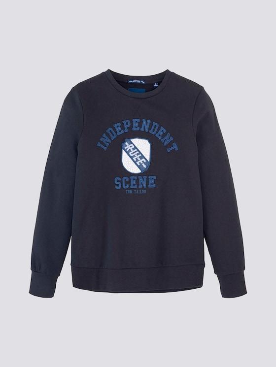 Sweatshirt mit Print - Jungen - dark navy|blue - 7 - Tom Tailor E-Shop Kollektion