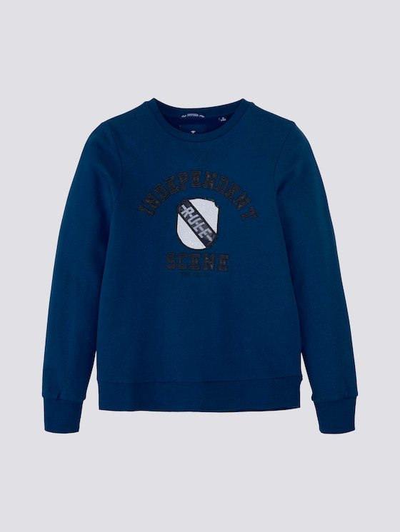 Sweatshirt mit Print - Jungen - new blue|blue - 7 - Tom Tailor E-Shop Kollektion