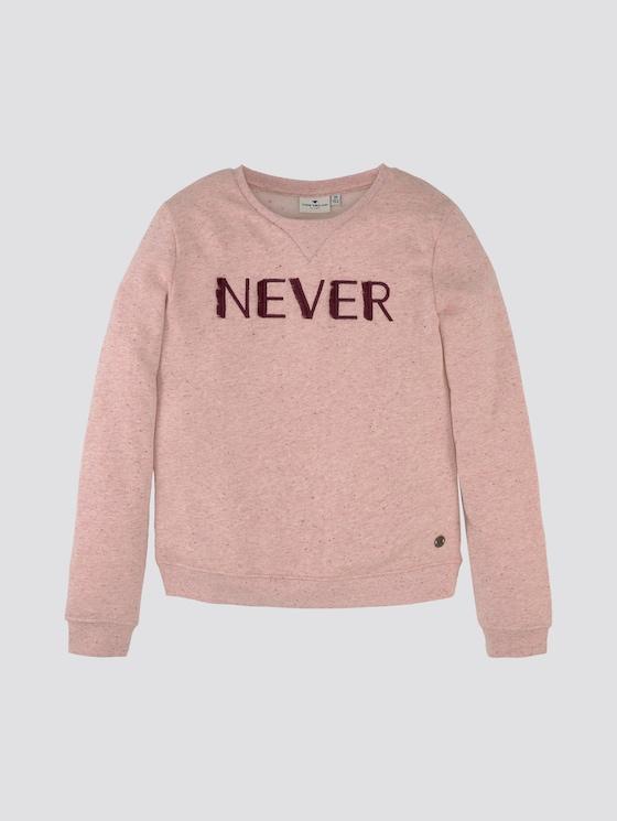 Sweatshirt mit Print - Mädchen - sunkist coral rose - 7 - TOM TAILOR