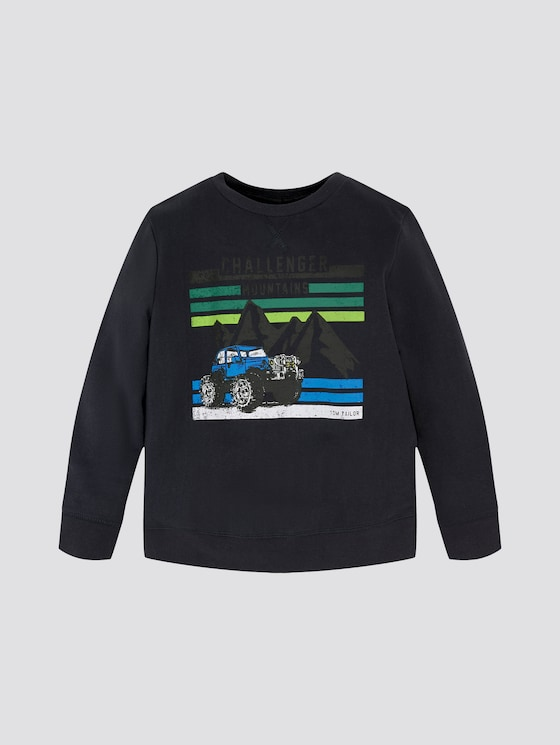 Sweatshirt mit Print - Jungen - original|multicolored - 7 - TOM TAILOR