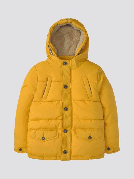 Winterjacke mit Kapuze - Jungen - golden yellow yellow - 7 - TOM TAILOR