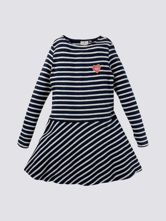 Gestreiftes Kleid - Mädchen - dress blue|blue - 7 - Tom Tailor E-Shop Kollektion