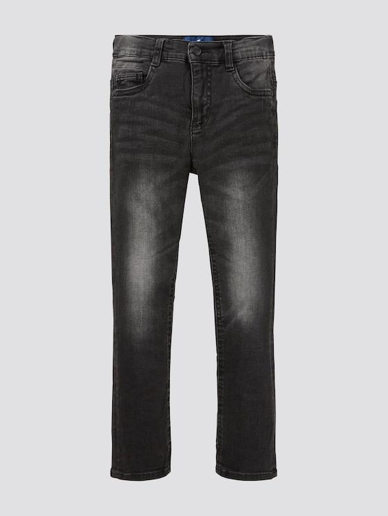 Schwarze Jeans - Jungen - black denim|black - 7 - TOM TAILOR