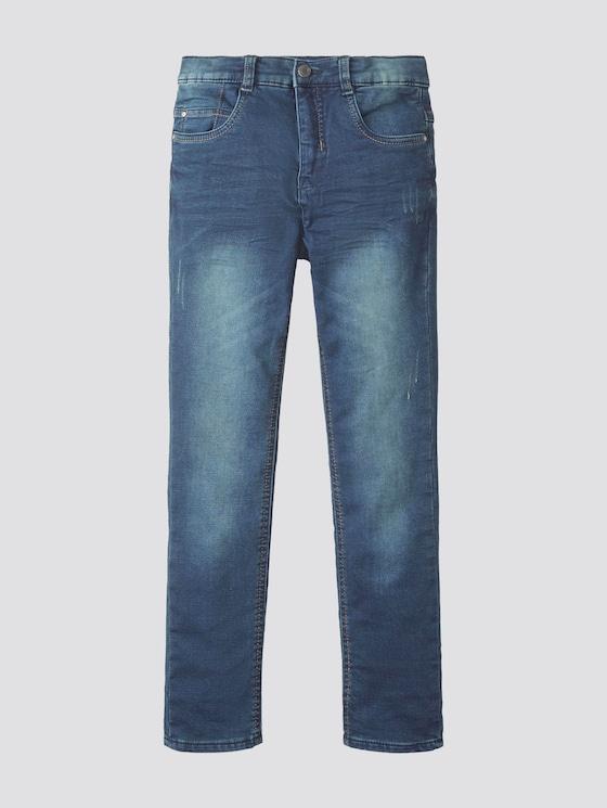 Jeans with a garment wash - Boys - blue/black denim|blue - 7 - TOM TAILOR